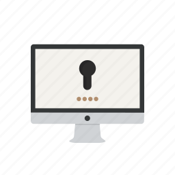 access, lock, locked, login, password, private, security icon