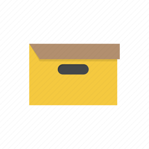 archieve, archive, box, documents, files, folder, package icon