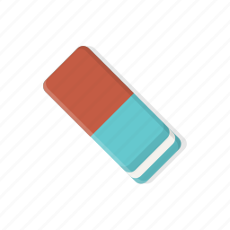 clean, cleaner, delete, erase, eraser, remove, stationery icon