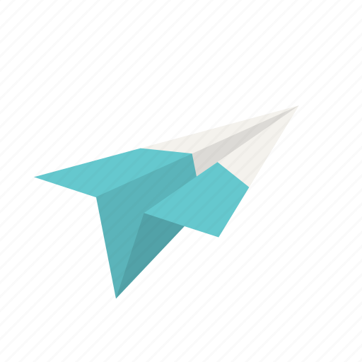 aeroplane, airplane, fly, letter, paper plane, plane, send icon