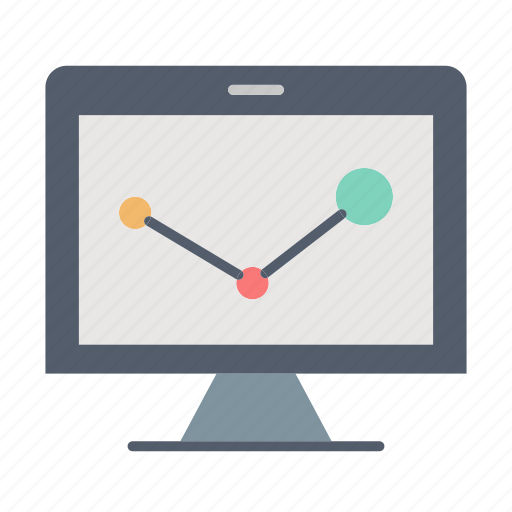 analytics, office, online, report, statistics icon