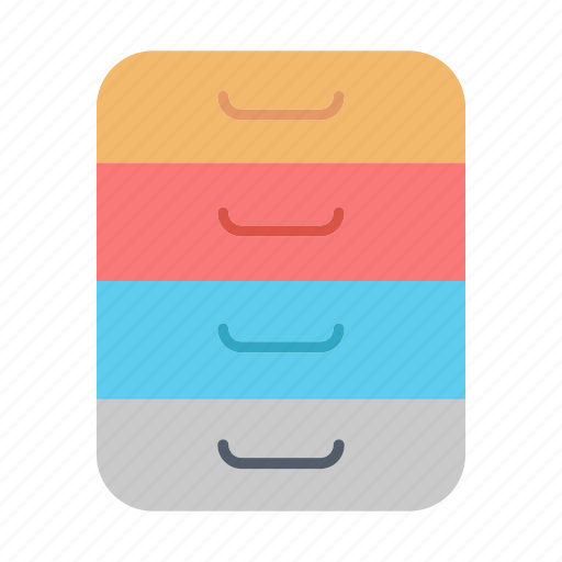 archive, data, files, office icon