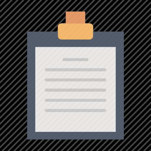 checklist, clipboard, office, report icon