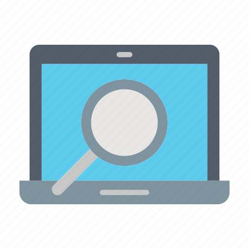 magnifier, office, online, search, shopping icon