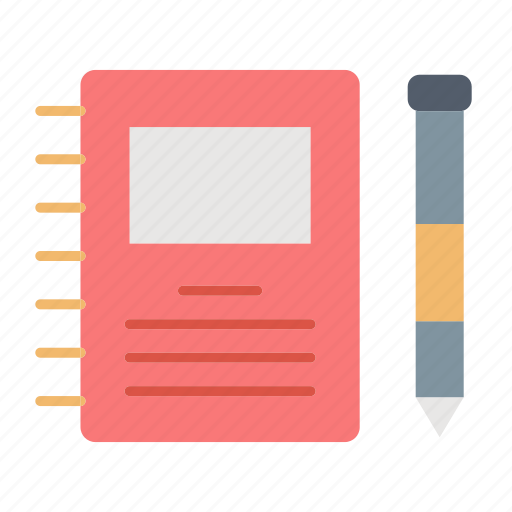 note, notebook, office, reminder icon