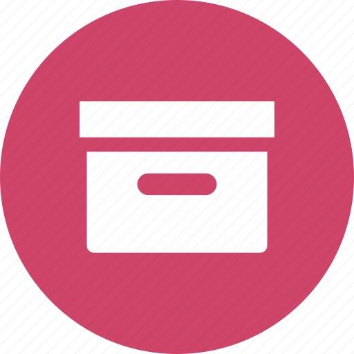 archive, box, document, files, project, storage icon