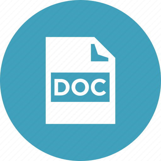 doc, document, file, format, office, text, word icon