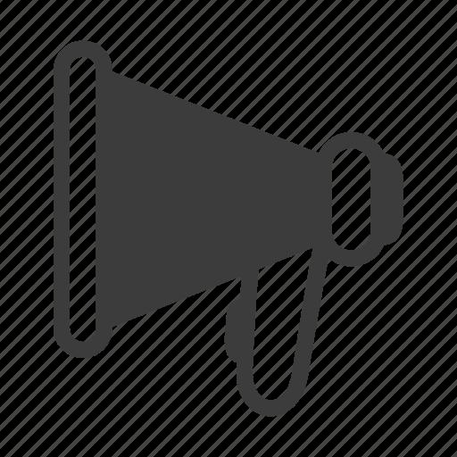 announcement, loudspeaker, marketing, megaphone icon