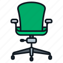 chair, computer, desk, gaming, office, swivel