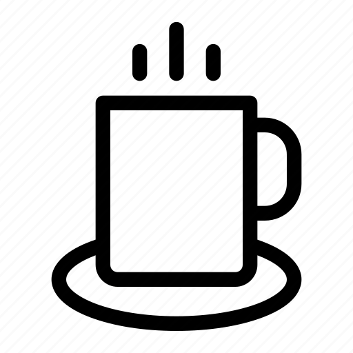 breakfast, coffee, cup, drink, food, glass, office icon