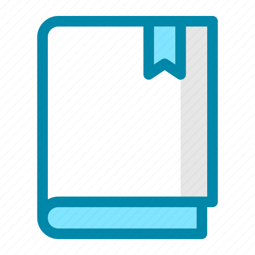 book, bookmark, education, learning, office, school, study icon