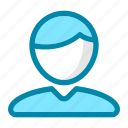 avatar, business, employee, office, people, profile, user icon