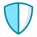 guard, insurance, protection, safety, secure, security, shield icon