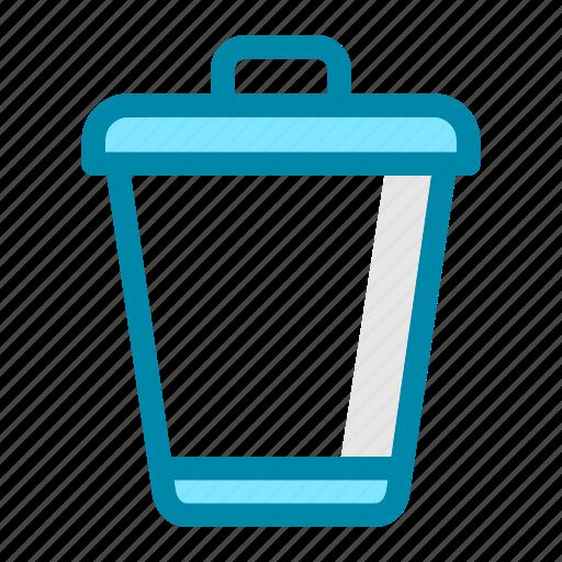 bin, can, delete, format, office, remove, trash icon