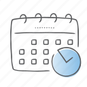 appointment, calendar, date, deadline, event, schedule icon