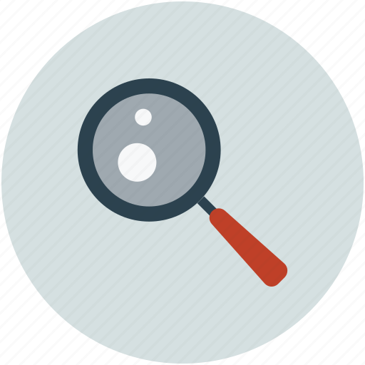 magnifying glass, zoom icon