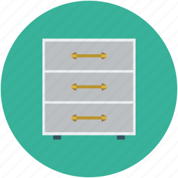 cabinet, drawers icon