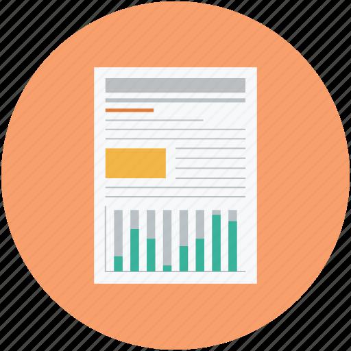 presentation, reports icon