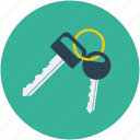 car keys, keys icon