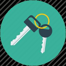 car keys, keys icon