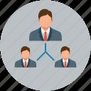 hierarchy, office, team