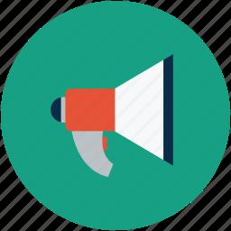 leader, megaphones icon