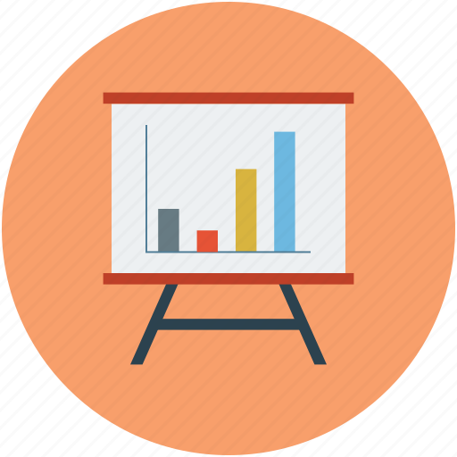 charts, meeting, presentation icon