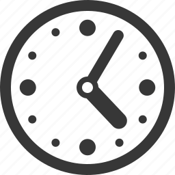 clock, time, timing icon