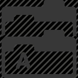 files, folder, office icon