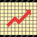 chart, diagram, graph, grid, line chart, line graph, report iconv icon