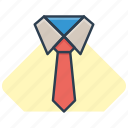 business, necktie, office, tie icon, work icon icon