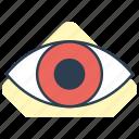 eye, human eye, search, view icon icon