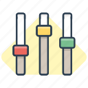 adjust, control, manage, move, operate, settings, work icon icon