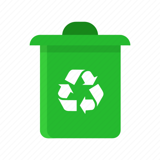 delete, erase, trash bin, trash can icon