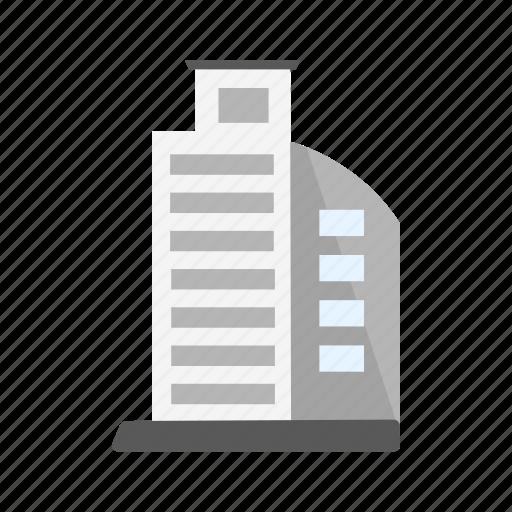 building, estate, skyscraper, tower icon