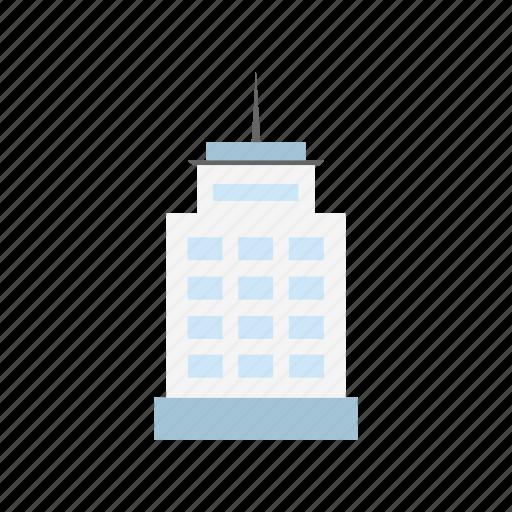 building, estate, office building, skyscraper icon