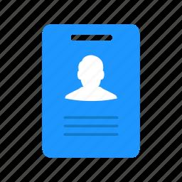 card, id, identification, identity icon