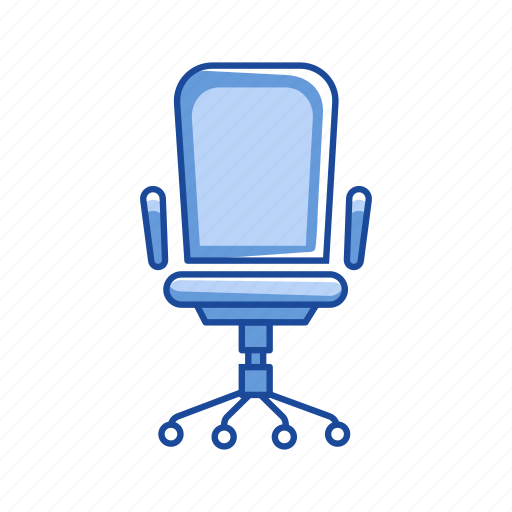 chair, furniture, management, office chair icon