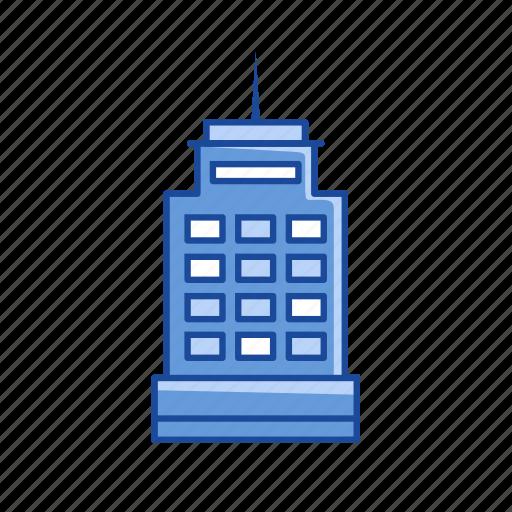 building, office building, skyscraper, tower icon