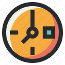 business, clock, office, tool, watch icon