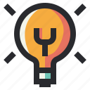 business, creative, idea, light, office icon