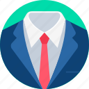 person, businessman, avatar, professional, tie, man, clothes
