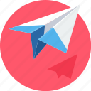 email, mail, paper plane, plane, post, send, work