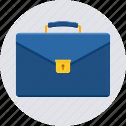 bag, brief case, briefcase, business, portfolio, suitcase, work icon