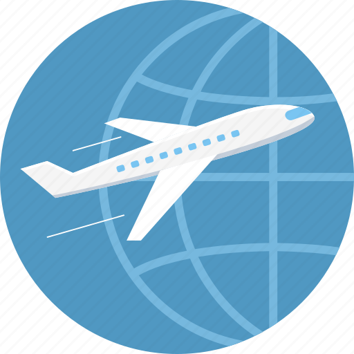 airplane, business, business travel, flight, international travel, overseas, plane icon