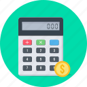 business, calc, calculate, calculation, calculator, finance, math icon