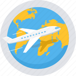 abroad, global, international, overseas, travel, world, world tour icon