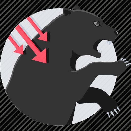 agressive, attack, black marketing, bullsmarket, market, pull market, stock icon