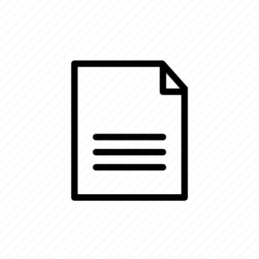 document, documents, extension, file, format, paper icon