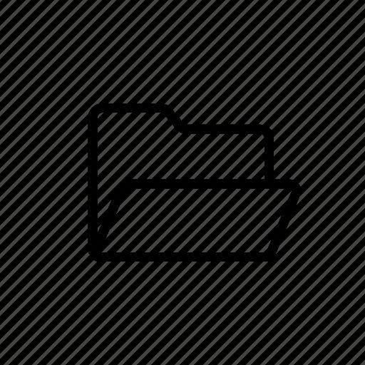 document, file, folder, format, paper icon